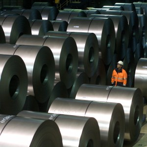 Steel Production At ThyssenKrupp AG Plant